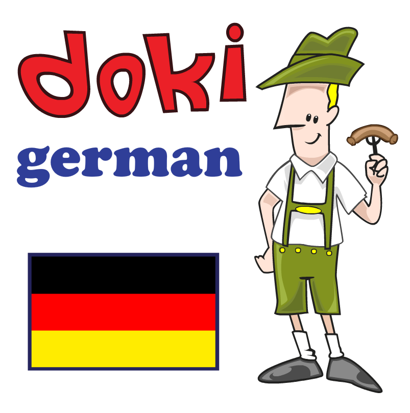 Learn Basic German with Doki HD