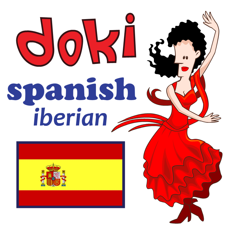 Learn Basic Spanish with Doki HD